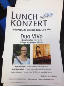 Lunchkonzert 21.10.15